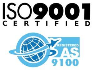 AS9100 Certification emblem